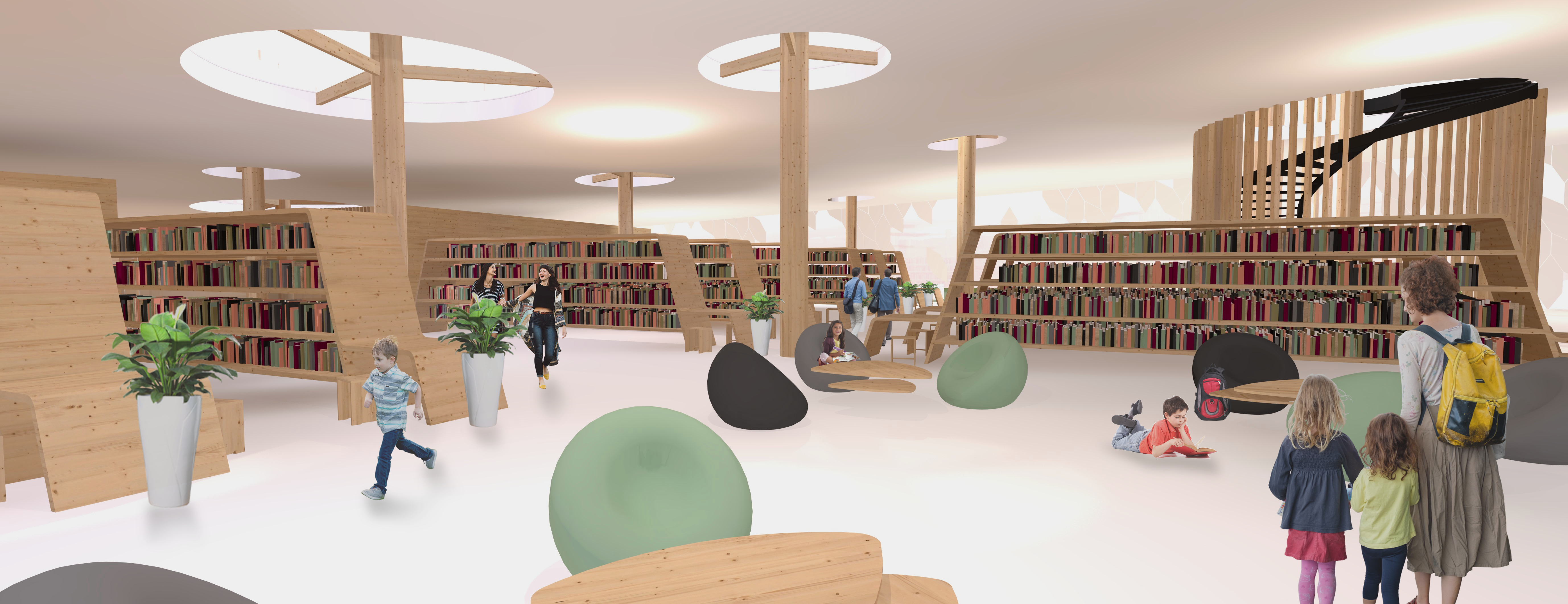 18 03 05 Losbates School Competition Library